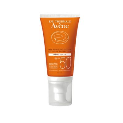 Солнцезащитный крем SPF50+ без отдушек Avene Suncare 50мл: фото