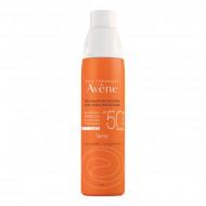 Солнцезащитный спрей для чувствительной кожи SPF50+ Avene SUNCARE 200 мл